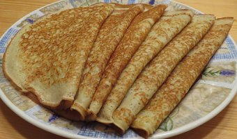 Пышные блины – рецепты блинчиков как у бабушки