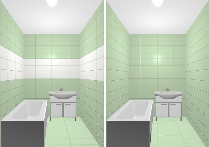 Увеличить пространство комнаты с помощью обоев 2