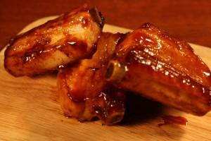 Рецепт ребрышек в медовом соусе