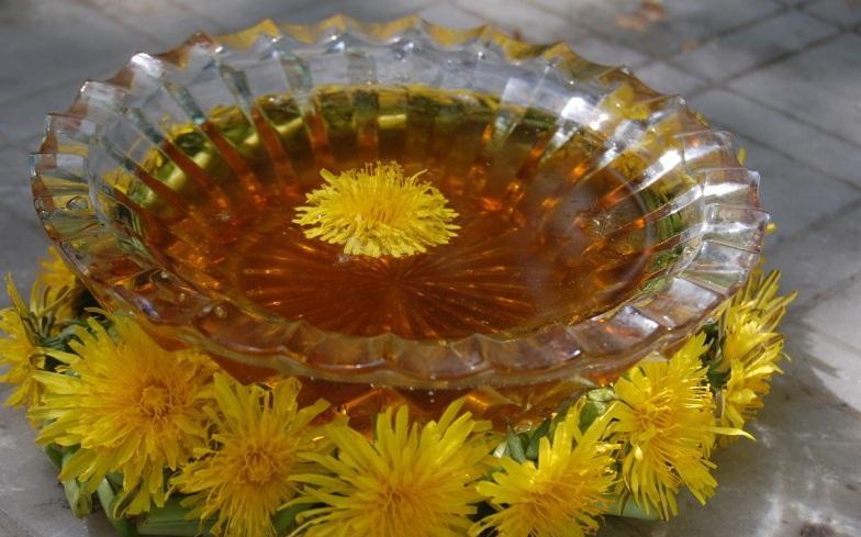 Цветы одуванчика варенье