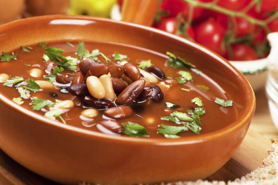 Красный фасолевый суп