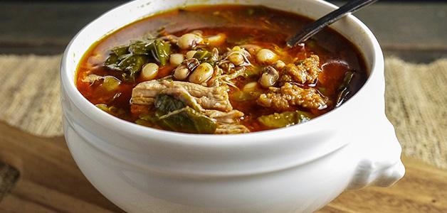 рецепт фасолевый суп с фото