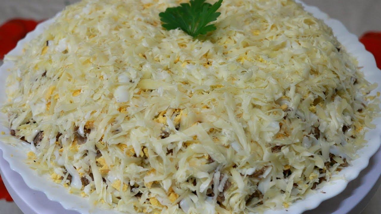Салат с кальмарами (более 100 рецептов с фото) 33