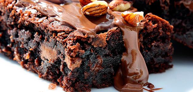Рецепт шоколадного брауни - пальчики оближешь!