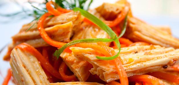 Рецепт спаржи по-корейски - полезная и вкусная закуска