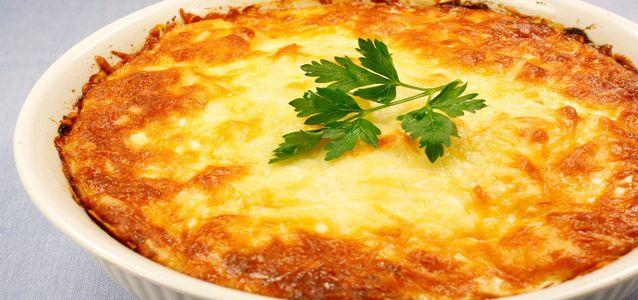 рецепт запеканки с фаршем и картошкой