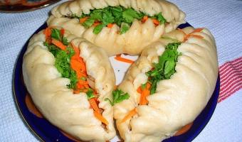 Дрожжевые пигоди – рецепт из корейской кухни