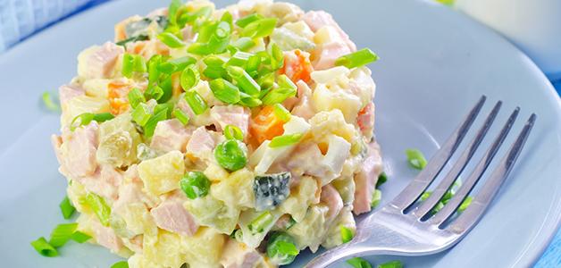 Салат Оливье - вкусные рецепты зимнего салата