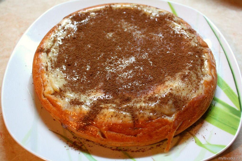 Рецепт творожного кекса в мультиварке