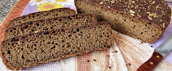 Ржаной хлеб в хлебопечке на кефире