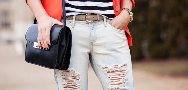 С чем носить рваные джинсы – образы на любой случай