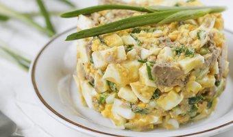 Салат из печени трески – 4 рецепта