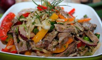 Салат из свиного языка – простые и вкусные рецепты