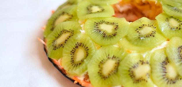Салат Изумрудный - рецепты салата с киви