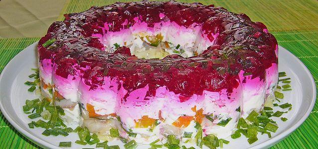 Салат со свеклой и морковью рецепт с