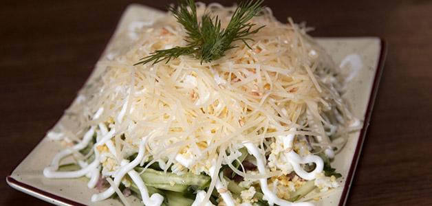 Салат «Нежность» с капустой