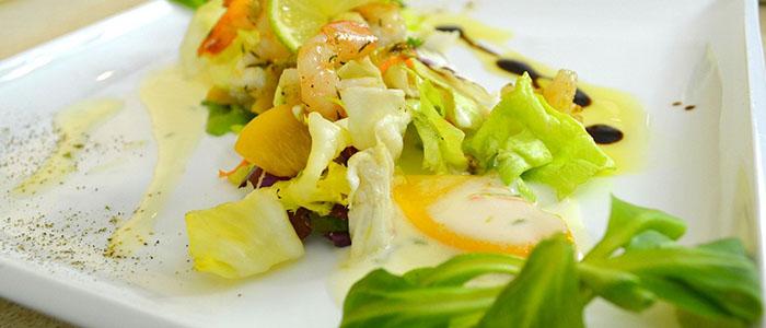 Салат с артишоком и тунцом