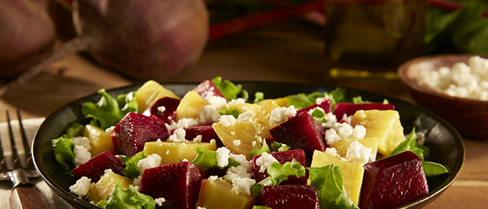 Салат с черносливом и тыквой