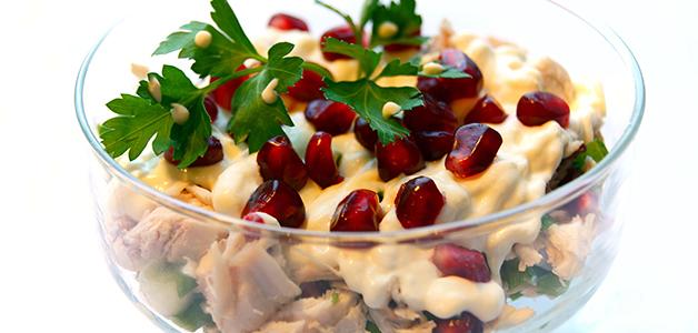 Салат с гранатом - полезные и вкусные рецепты