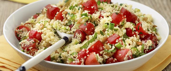 Салат с кускусом – 4 полезных рецепта