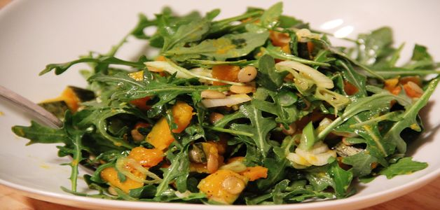 китайский салат из рукколы