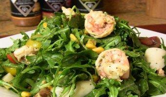 Салат с рукколой – полезные рецепты на каждый день