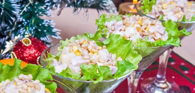 простой салат на Новый год 2019