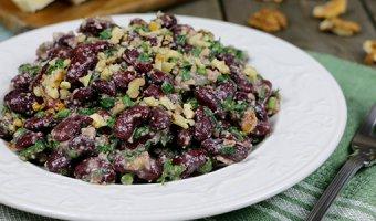 Салаты с красной фасолью – вкусные и простые рецепты