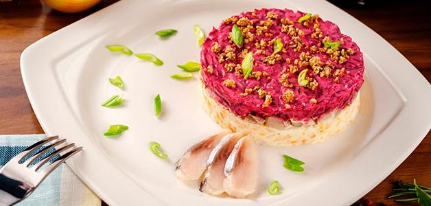 Сельдь под шубой - рецепты традиционного салата