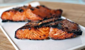 Семга на мангале – 3 рецепта из вкусной рыбы