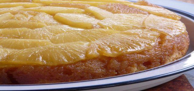 вкусная шарлотка с апельсинами