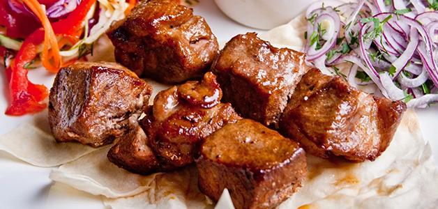 Шашлык из мяса говядины