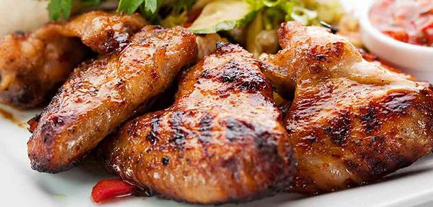 шашлыка курицы из крылышки Маринад для