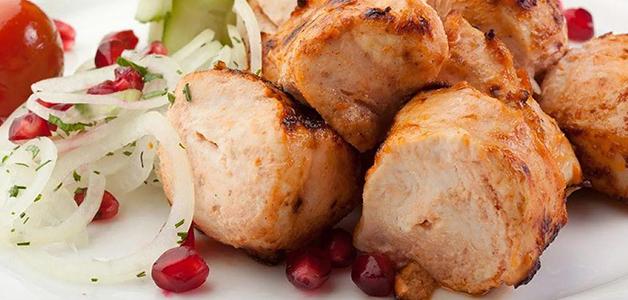 Мягкий шашлык из курицы