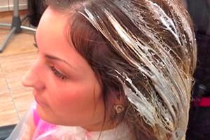 Шатуш волос в домашних условиях