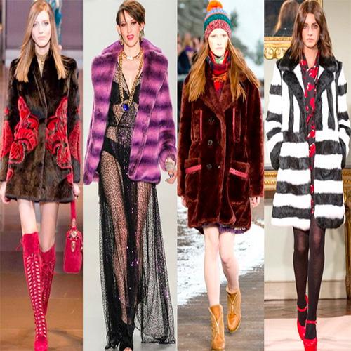 Модная шуба 2016 года