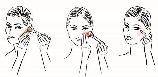 макияж скул