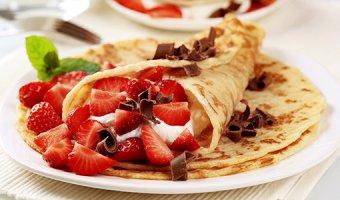 Сладкие блины – простые рецепты сладких блинчиков