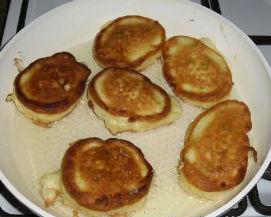Сладкие оладьи из кабачков рецепт