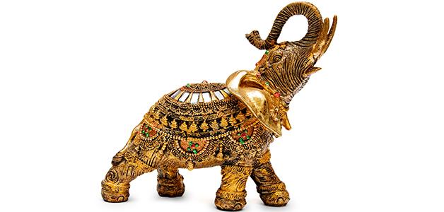 Слон по фен-шуй - символ стабильности