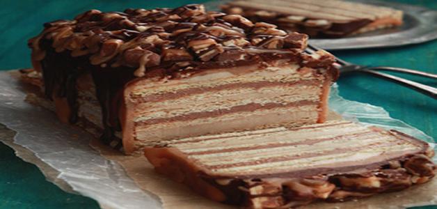 Торт сникерс из печенья