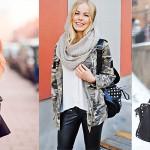 Снуд — как правильно носить модный шарф