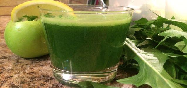 сок из листьев одуванчика