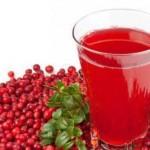 Клюквенный сок – польза и полезные свойства