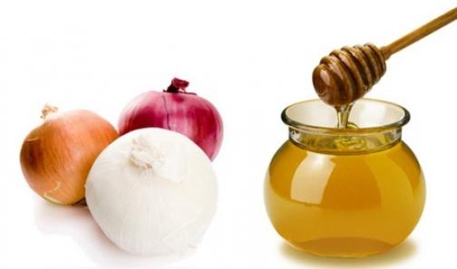 Луковый сок с медом
