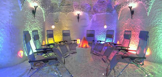 Соляная пещера показания