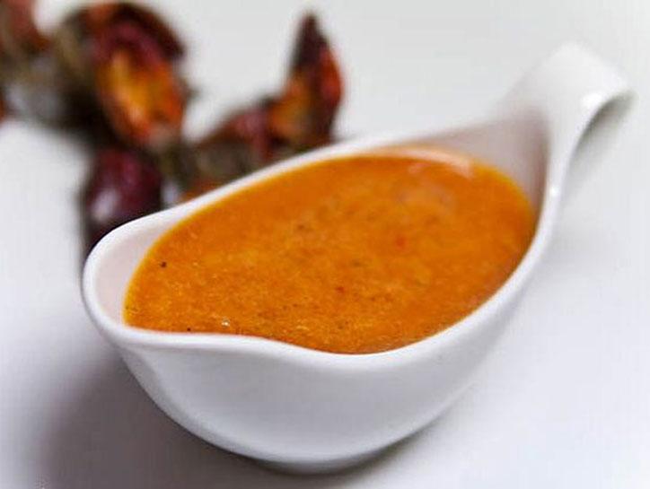 как приготовить кисло сладкий соус из воды крахмала кетчупа