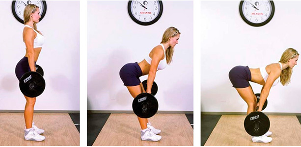Становая тяга работающие мышцы