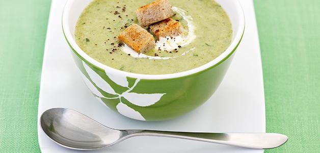 Крем суп из брокколи