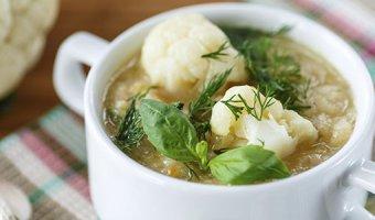 Суп из цветной капусты – 4 рецепта
